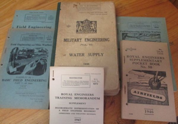 Royal Engineering Training Manuals and Pamphlets (6) 1936 & 1946-1951