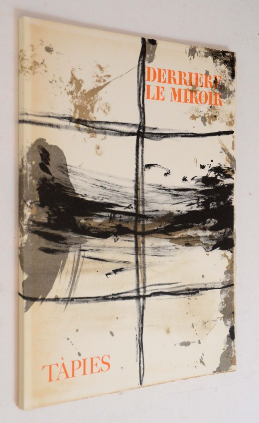 ANTONI TAPIES - DERRIERE LE MIROIR NO. 168. DE-LUXE LIMITED SIGNED EDITION