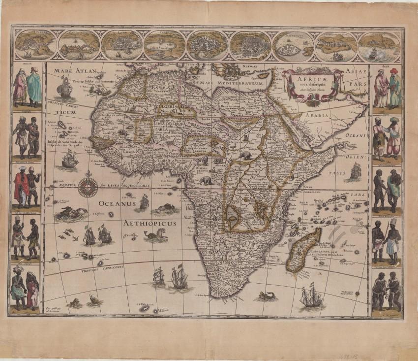 Africae nova descriptio [A new description of Africa]