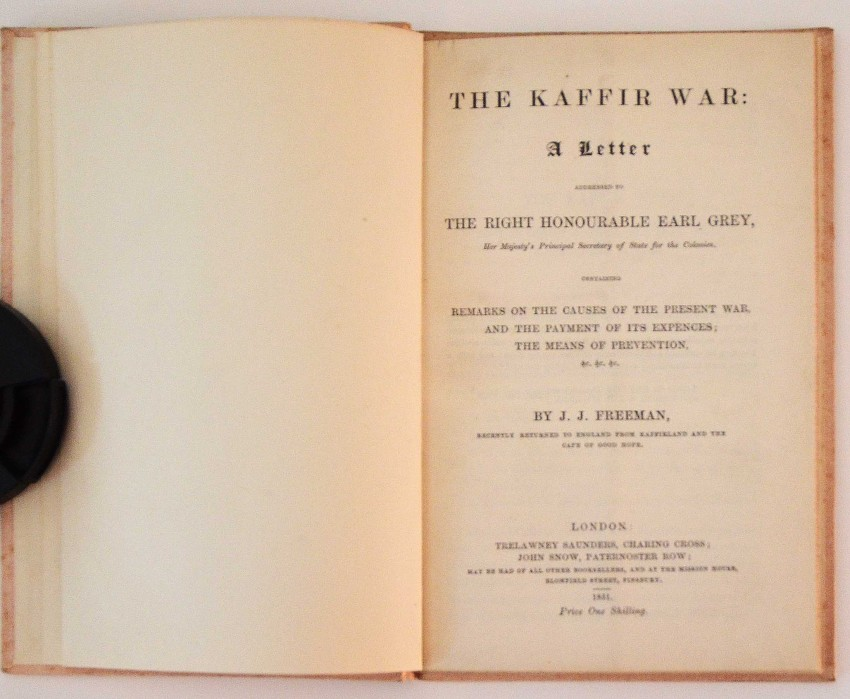 THE K-R WAR: A LETTER ADDRESSED TO THE RIGHT HONOURABLE EARL GREY