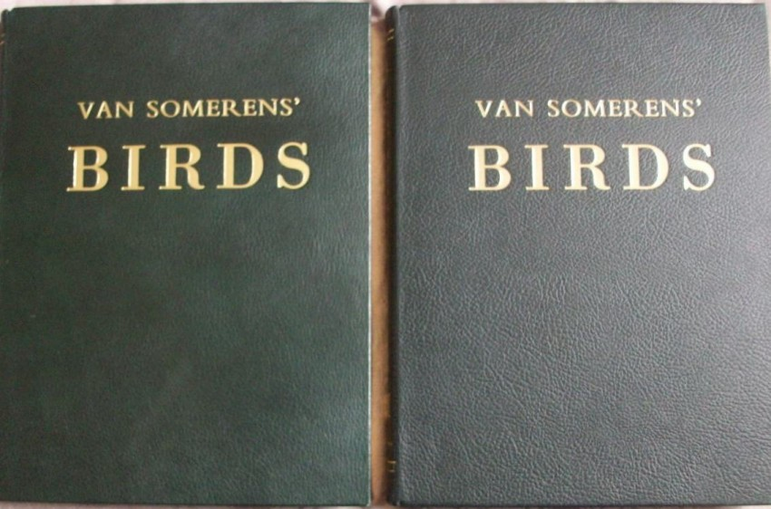 Van Someren's Birds- 2 Volume SET. Signed and Limited edition 474/500 copies. (SIGNED)