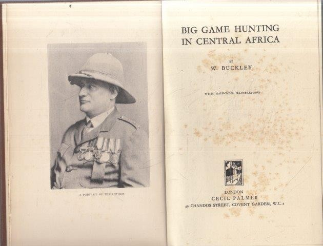 Big Game Hunting in Central Africa