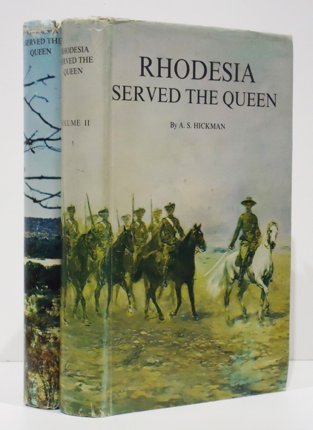RHODESIA SERVED THE QUEEN