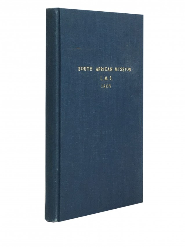 South African Mission L.M.S. 1803.