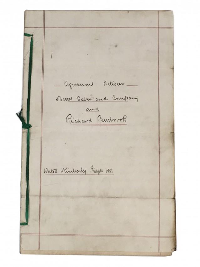 [PROSPECTING] Memorandum of Agreement