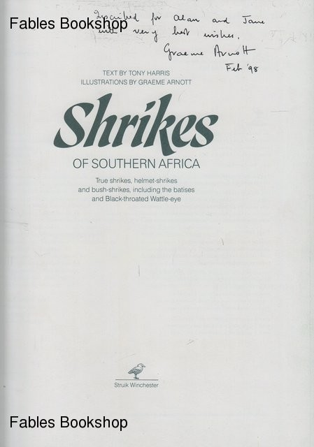 SHRIKES OF SOUTHERN AFRICA