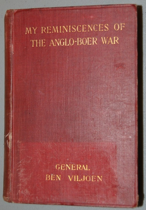 My Reminiscences of the Anglo-Boer War.