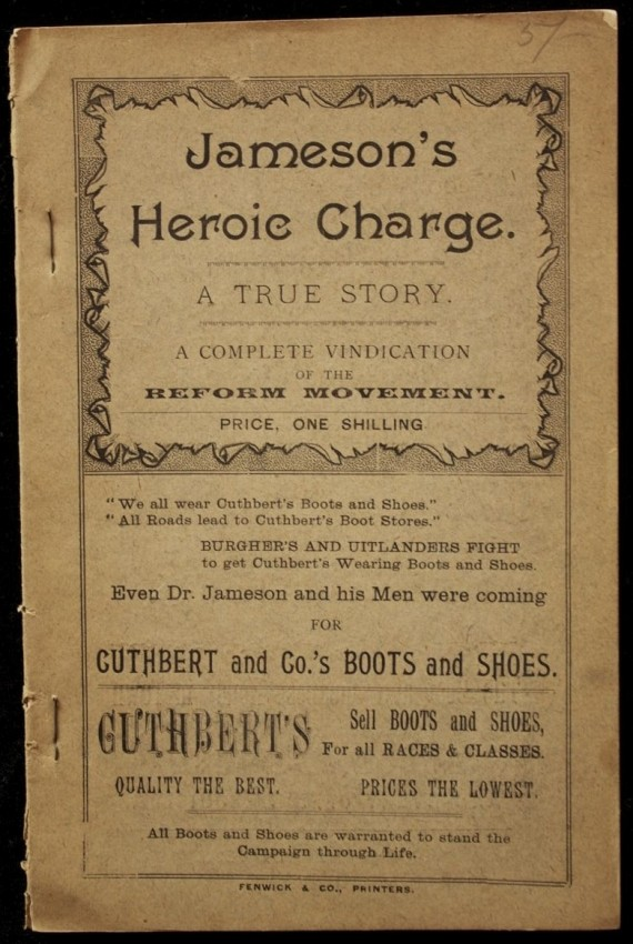 Jameson's Heroic Charge. A True Story.