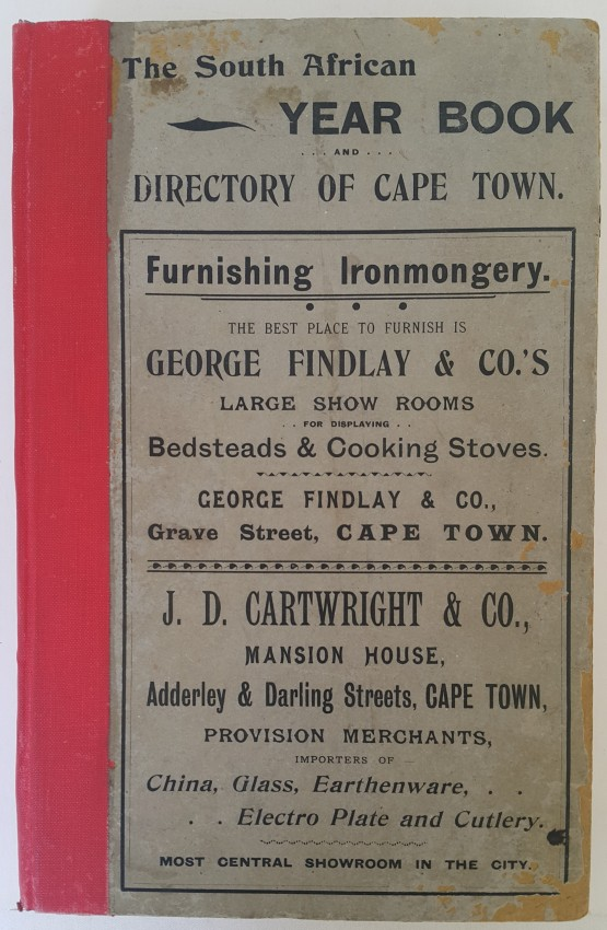 The South African Year Book and Directory of Cape Town.