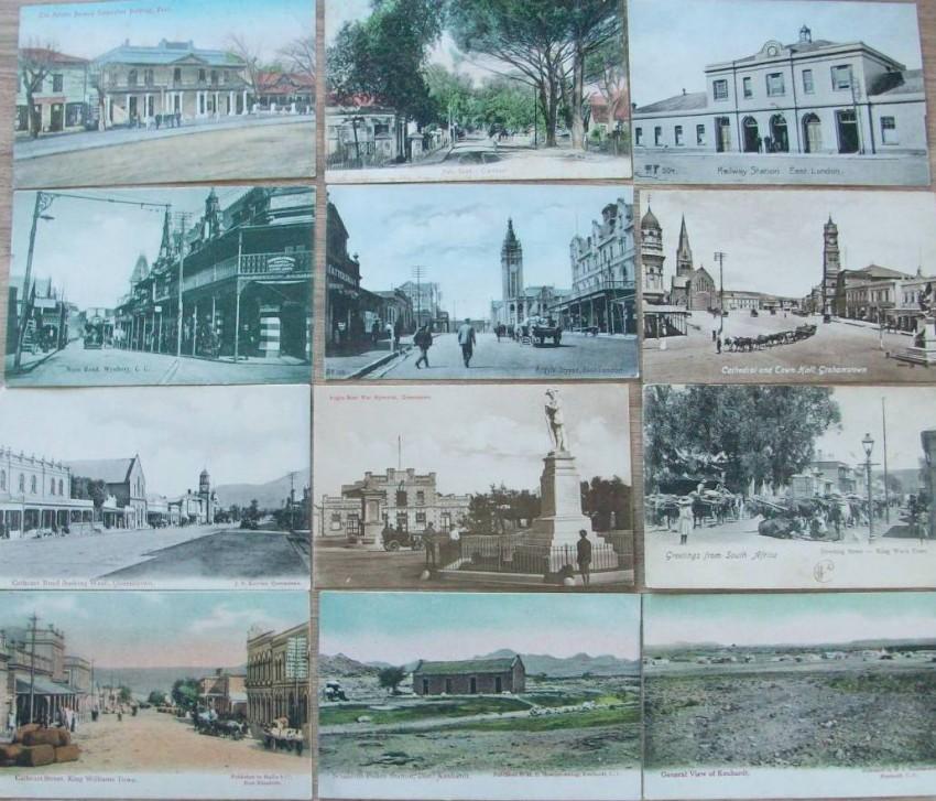 18 Vintage Postcards of Cape Colony- Circa 1906-17