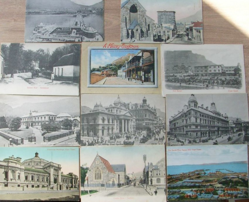 19 Vintage Postcards of Cape Town & Environs- Circa 1906-17