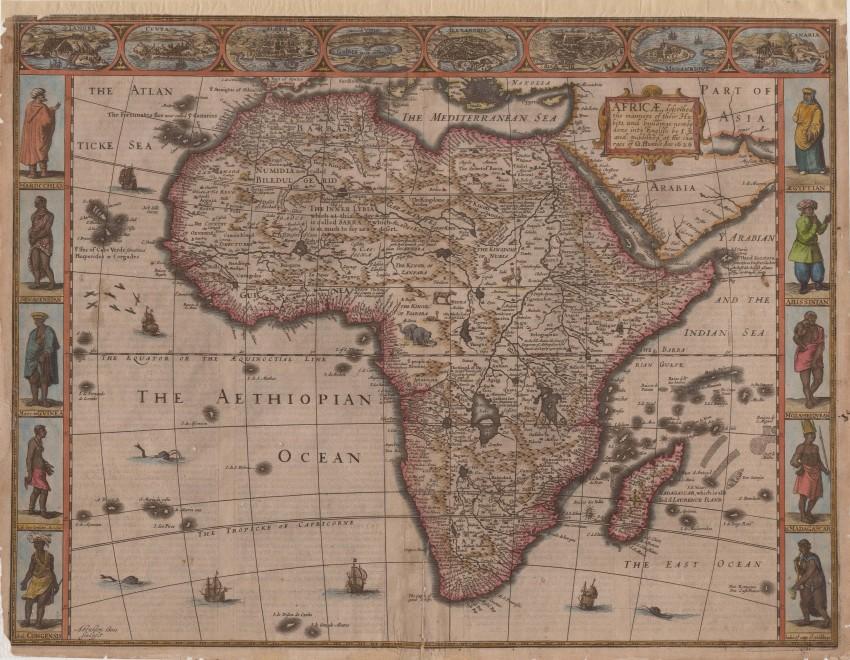 Africæ described