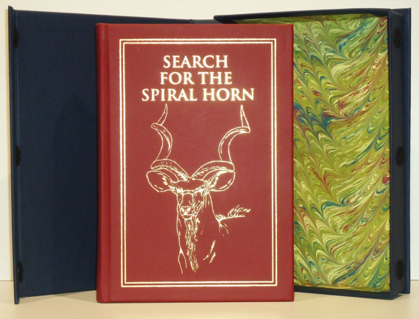 SEARCH FOR THE SPIRAL HORN (Limited edition signed by the author)