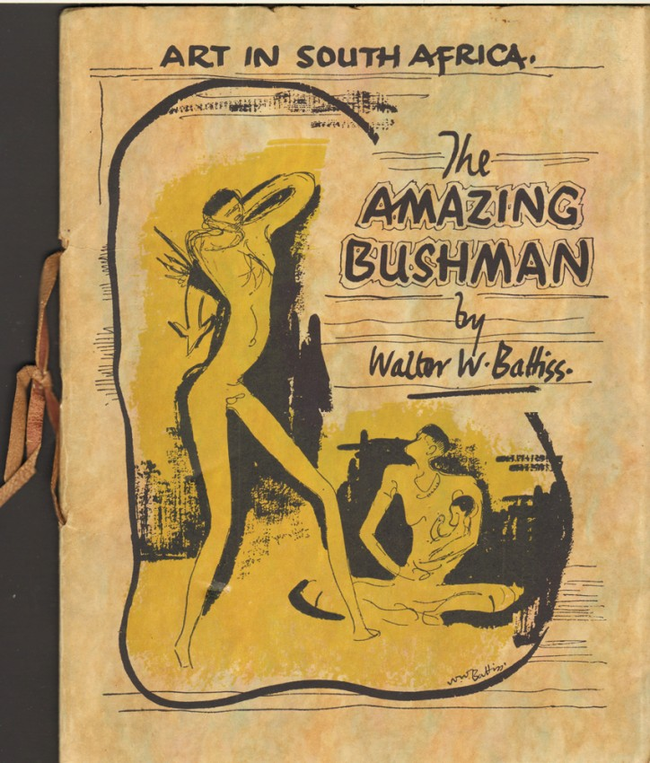 THE AMAZING BUSHMAN (Presentation copy of the artist's first book)