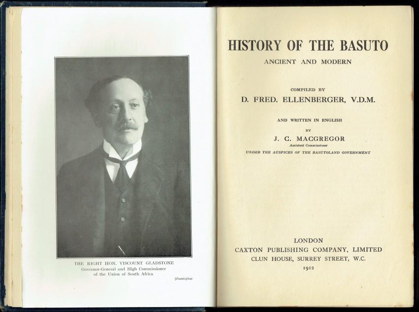 History of the Basuto, Ancient and Modern