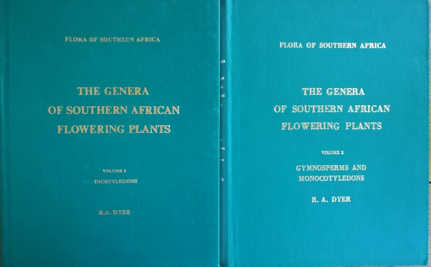 Flora of Southern Africa. The Genera of Southern African Flowering Plants. Vol 1 Dicotyledons; Vol 2 Gymnosperms & Monocotyledons