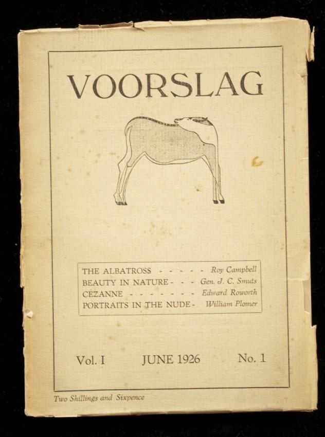 VOORSLAG, Vol. 1 No. 1