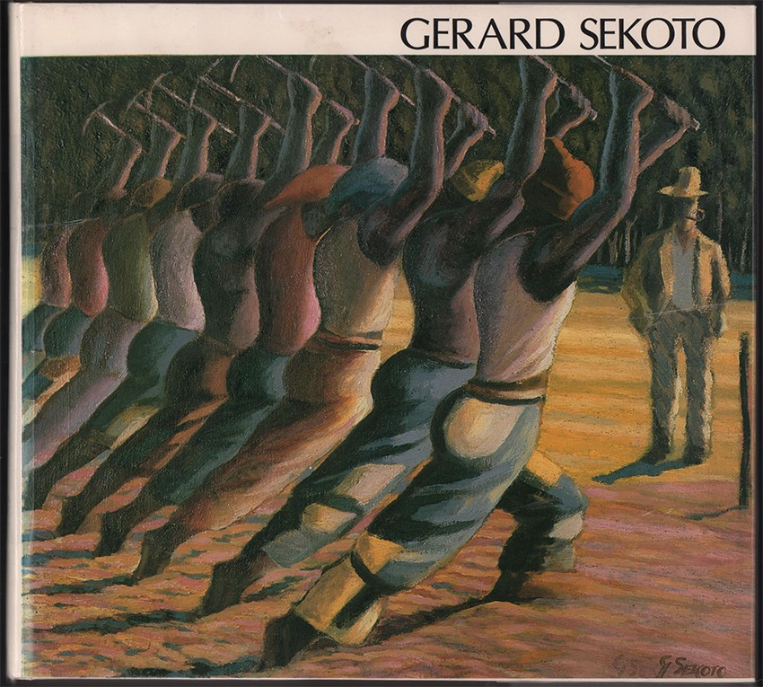 GERARD SEKOTO (Signed by the author)
