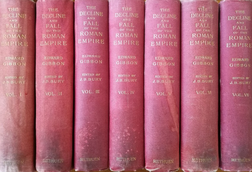 The History of the Decline and Fall of the Roman Empire (7 vols, 1897-1900)