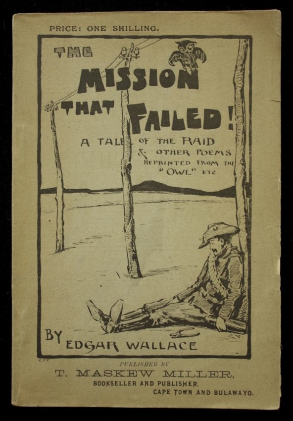 THE MISSION THAT FAILED - author's FIRST book