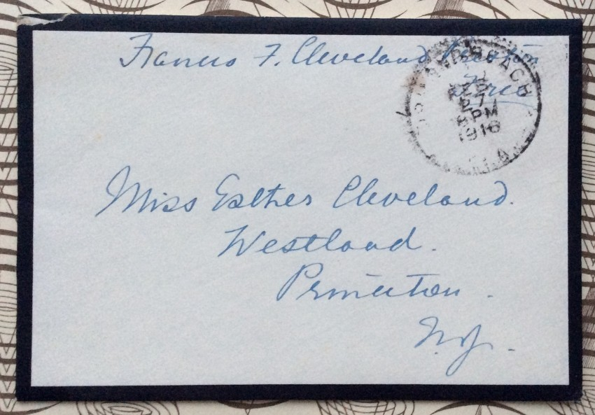 A 4pp. Autograph Letter Signed to her daughter Esther
