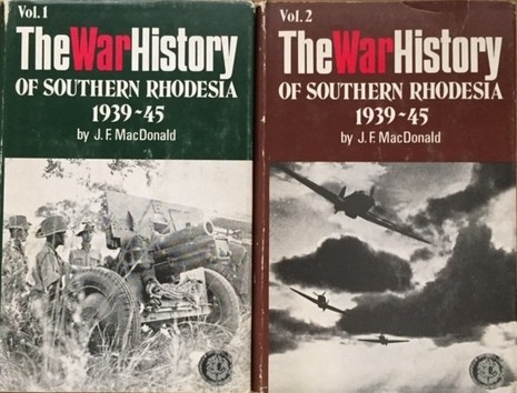 THE WAR HISTORY OF SOUTHERN RHODESIA, 1939-45