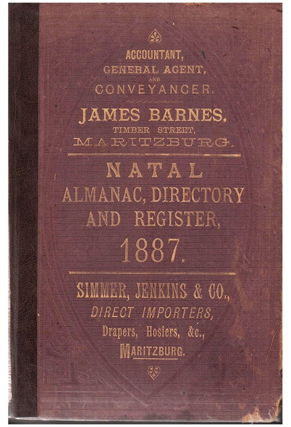 THE NATAL ALMANAC, DIRECTORY, AND YEARLY REGISTER. 1887