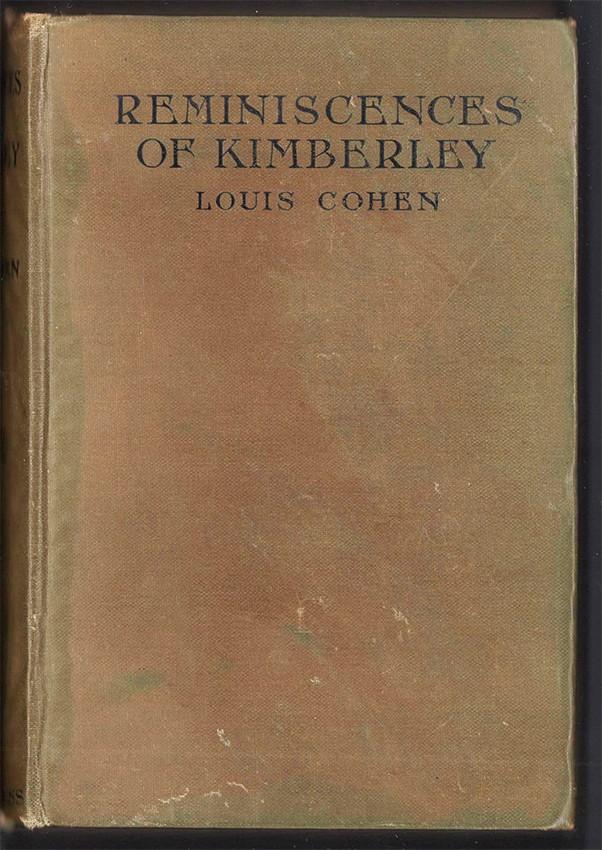 REMINISCENCES OF KIMBERLEY