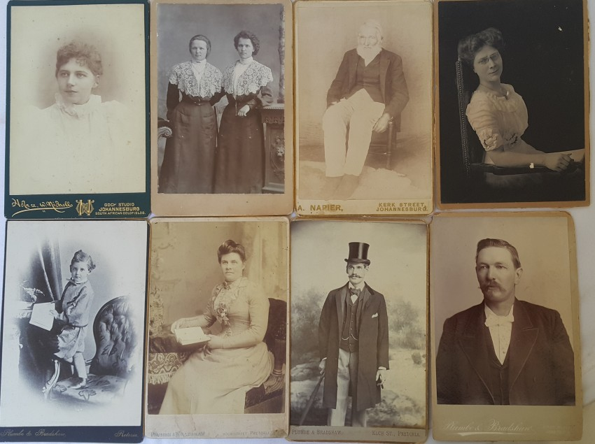 Collection of Cabinet Photographs.