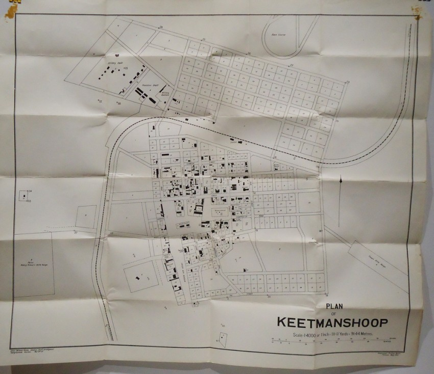 PLAN OF KEETMANSHOOP