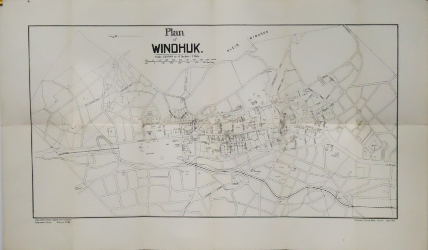 PLAN OF WINDHUK