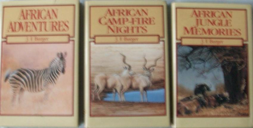 Three Hunting Books- J.F.Burger