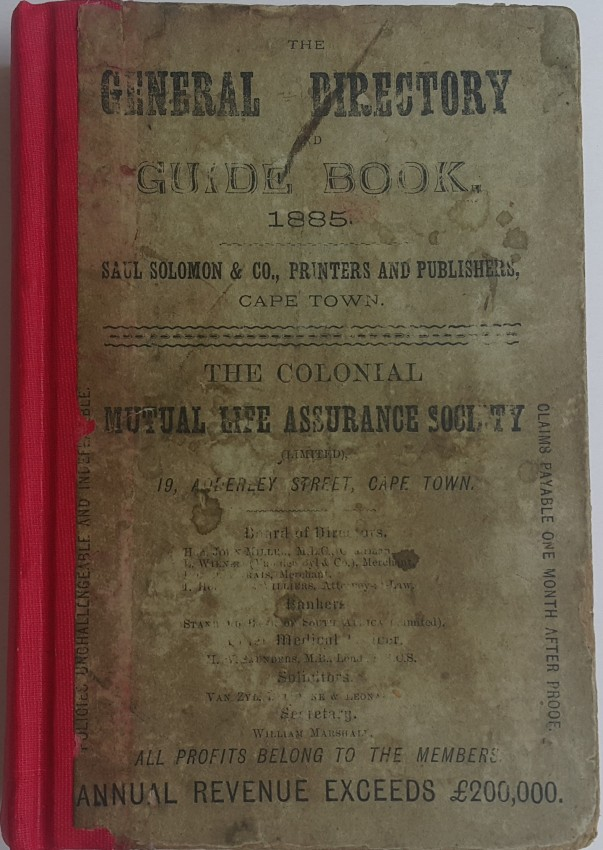 The General Directory and Guide-Book 1885