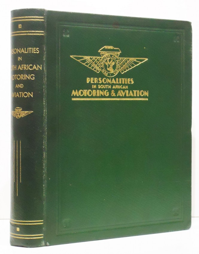 PERSONALITIES IN SOUTH AFRICAN MOTORING AND AVIATION