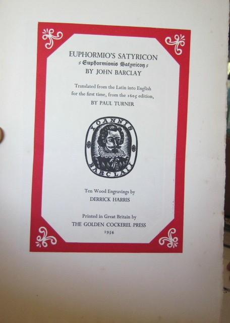 Euphormio's Satyricon [Prospectus]