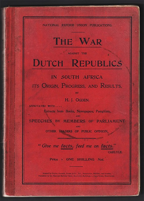 THE WAR AGAINST THE DUTCH REPUBLICS IN SOUTH AFRICA,