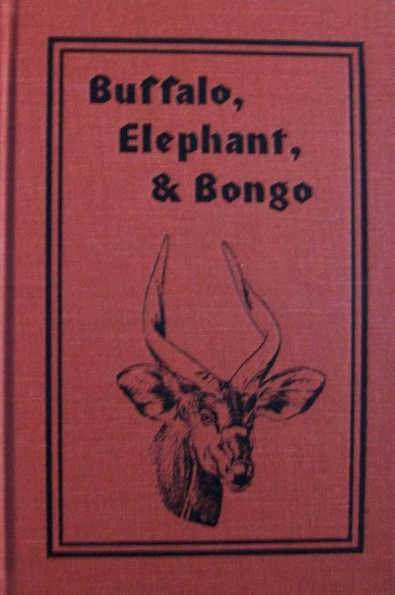 Buffalo, Elephant & Bongo (Signed and numbered first edition. 492/1000 copies