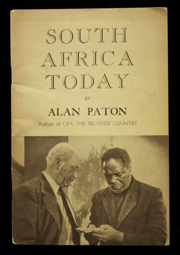 South Africa Today (copy inscribed by the author)
