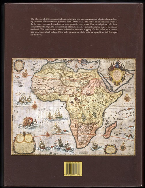 THE MAPPING OF AFRICA (Signed by the author)