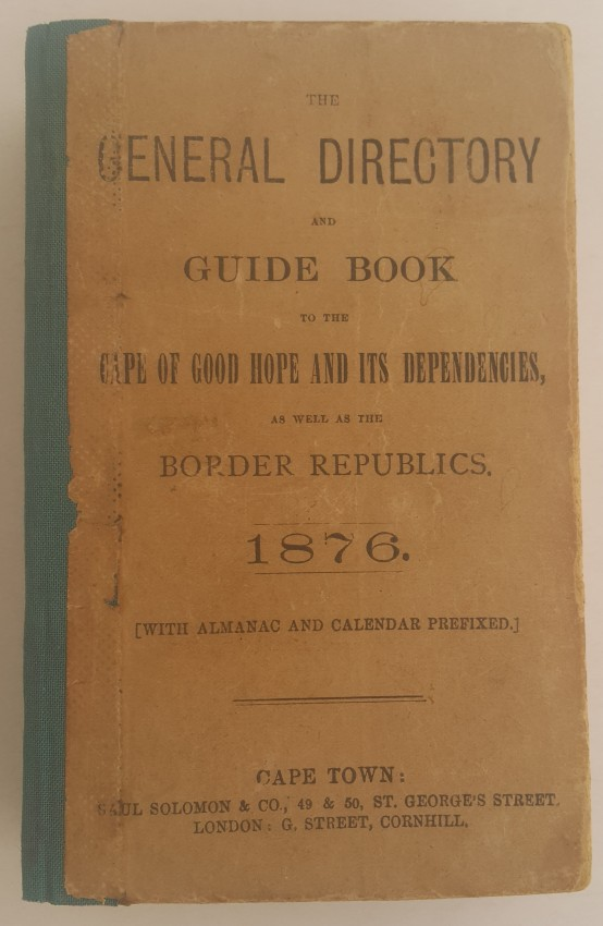 The General Directory & Guide Book for 1876.
