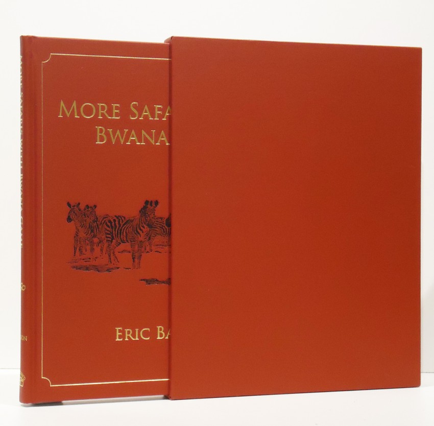 MORE SAFARIS WITH BWANA GAME (limited edition signed by tha author)
