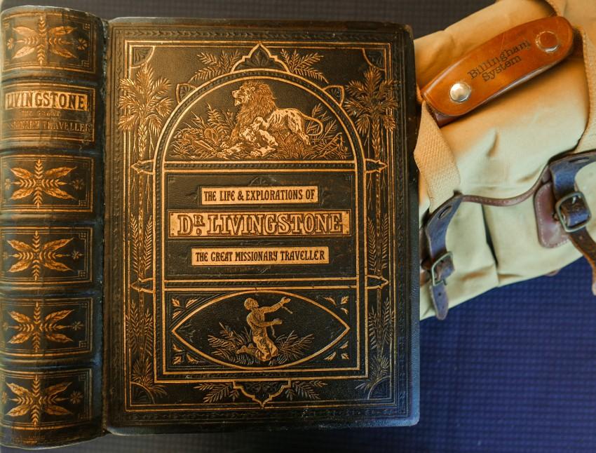 THE LIFE & EXPLORATIONS OF DR. LIVINGSTONE  (Frank Bradlow's ('Bradlow Variants') personal copy)