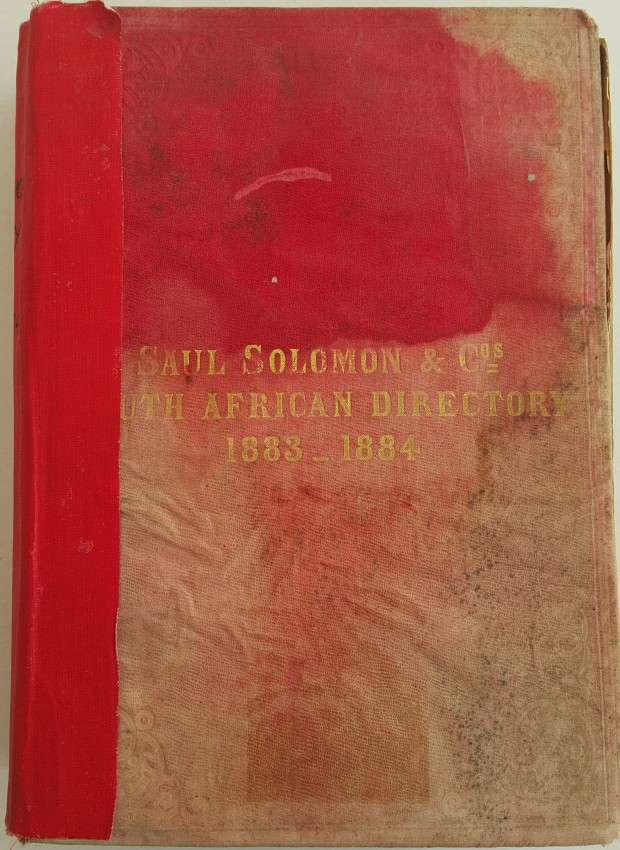 South African Directory 1883-1884.