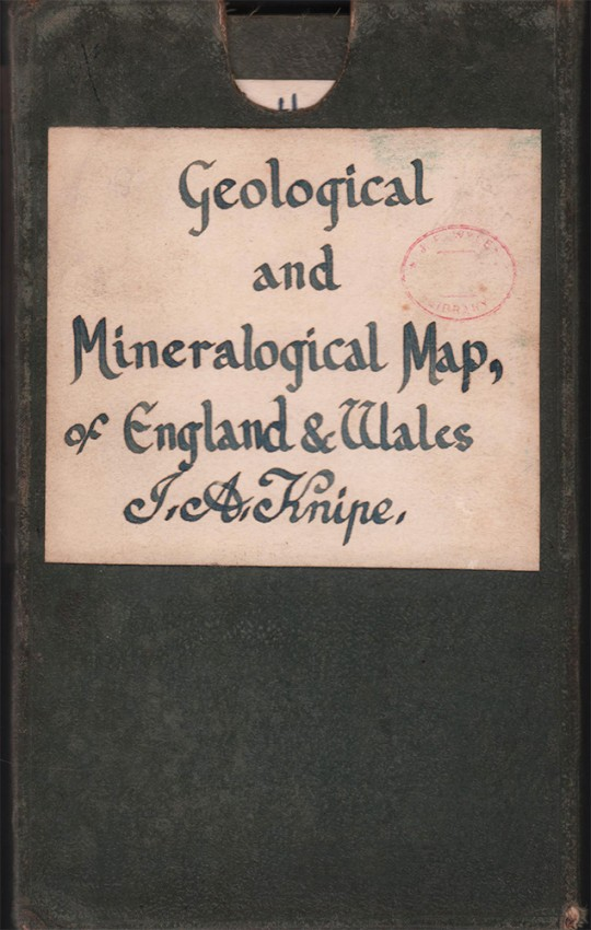 GEOLOGICAL AND MINERALOGICAL MAP OF ENGLAND AND WALES