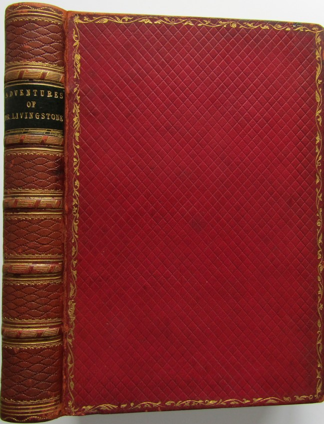 Dr. Livingstone, His Life and Adventures in the Interior of South Africa