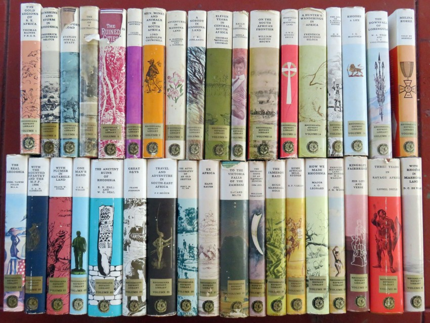 Rhodesiana Reprint Library (Gold Series - Complete set)