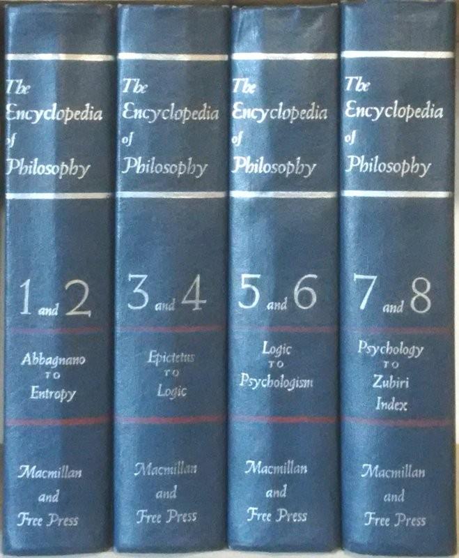 THE ENCYCLOPEDIA OF PHILOSOPHY