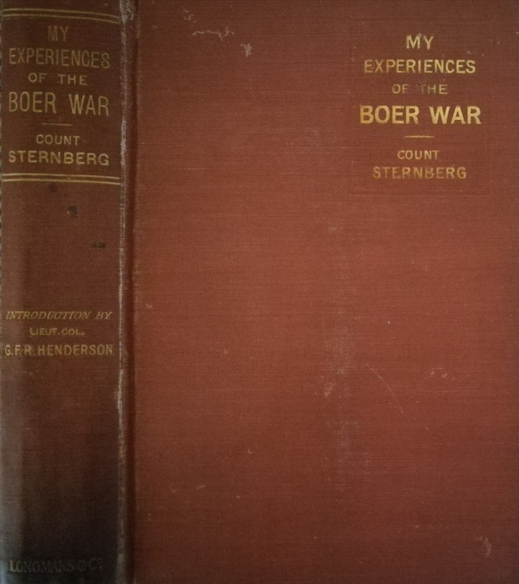 My Experiences of the Boer War (translated from the German) (1901)