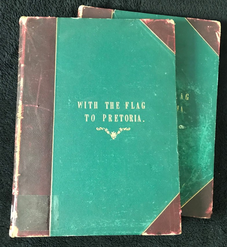 WITH THE FLAG TO PRETORIA (2 VOLUMES) (SOLD ON BEHALF OF THE FRIENDS OF JOHANNESBURG LIBRARY)