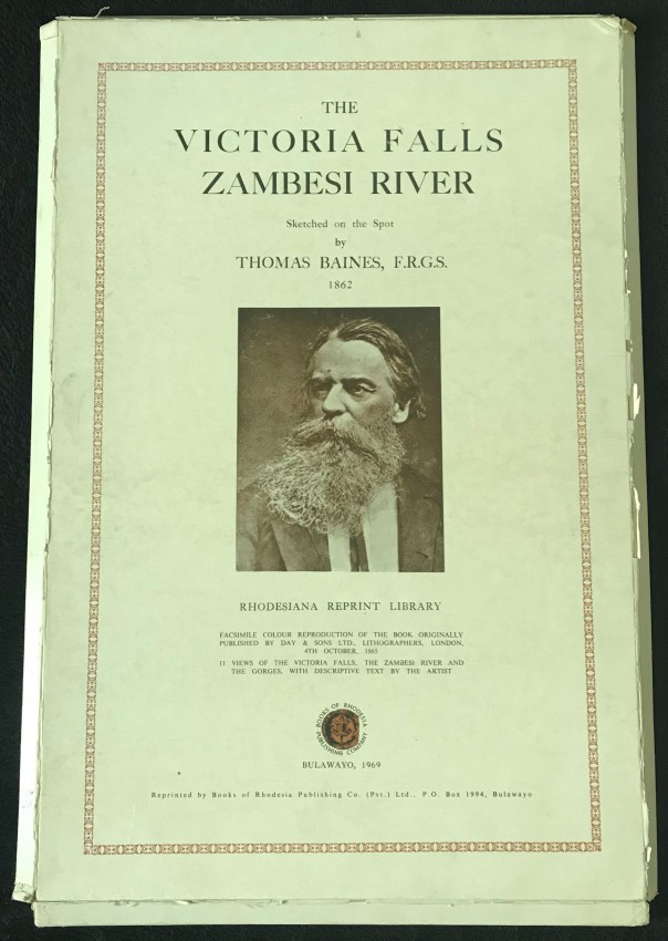 THE VICTORIA FALLS ZAMBESI RIVER (SOLD ON BEHALF OF THE FRIENDS OF JOHANNESBURG LIBRARY)